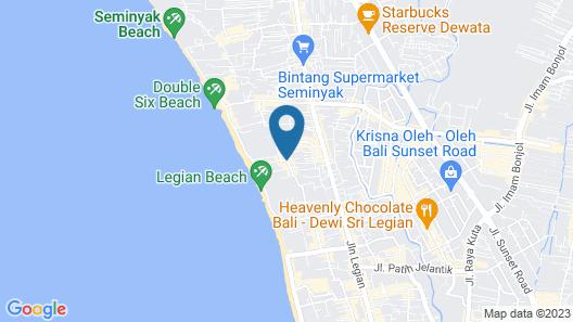 Adika Sari Bungalow Map