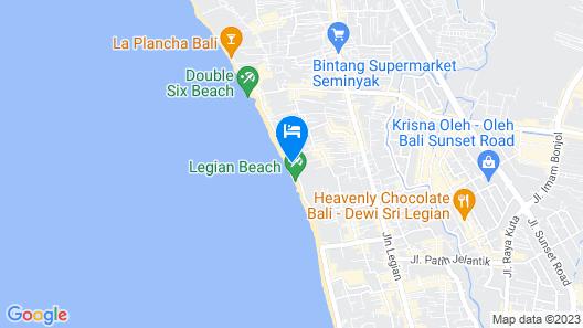 Hotel Puri Raja Map
