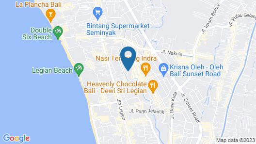 Bali Cosy Villa Map