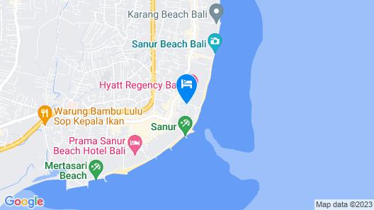 Parigata Villas Resort Map