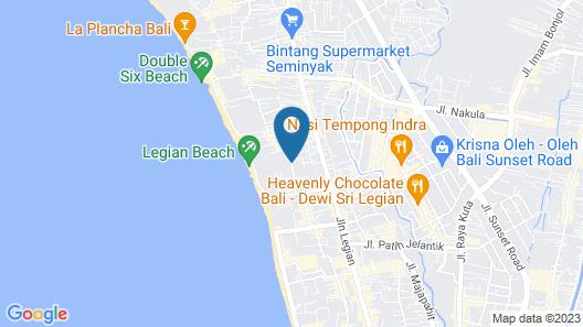 ibis Styles Bali Legian Map