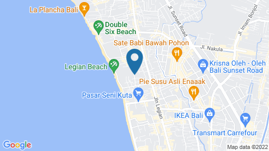 Three Brothers Bungalows & Villas Map