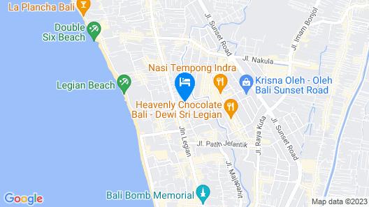 Beautiful Bali Villas Map