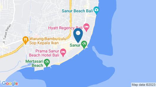 ARTOTEL Sanur Bali Map