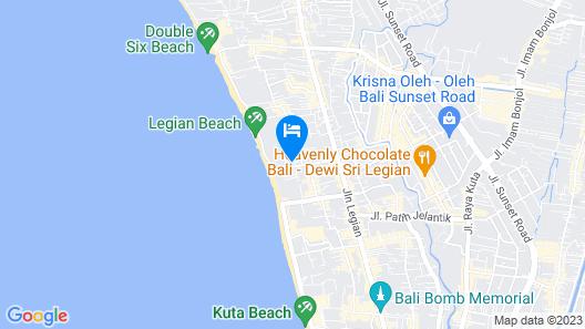 Padma Resort Legian Map