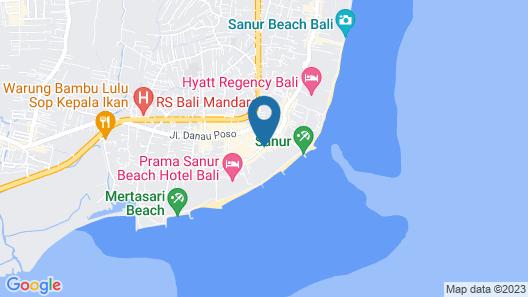 Puri Santrian Map