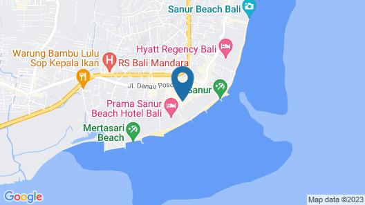 SAGARA Villas and Suites Map