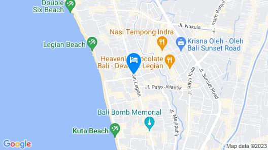 Mercure Bali Legian Map