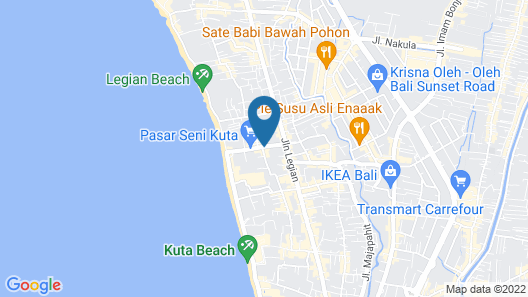 The Magani Hotel and Spa Map