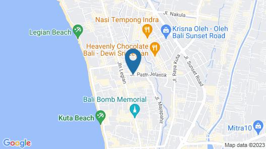 Hotel Neo - Kuta,Jelantik Map