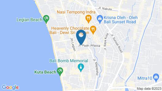 Mirah Hostel Map