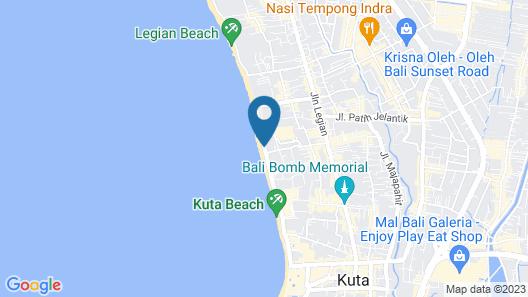 Citadines Kuta Beach Bali Map