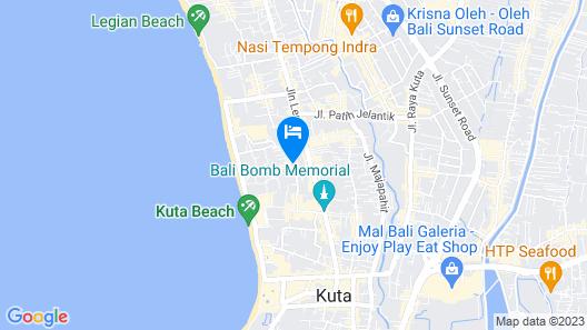 Four Points By Sheraton Bali, Kuta Map