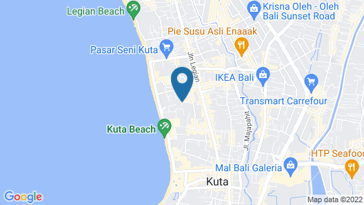 Adi Dharma Hotel Map