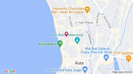 Wina Holiday Villa Map