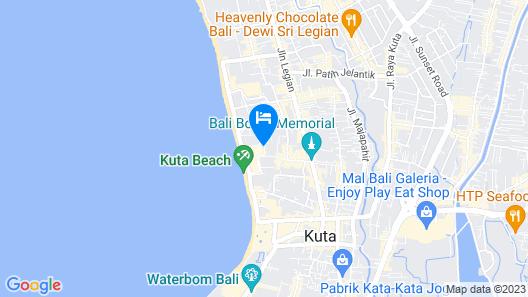 Bounty Hotel Map