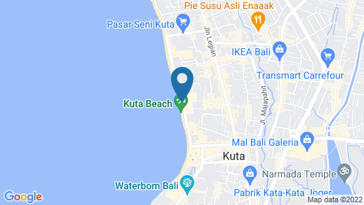 Sheraton Bali Kuta Resort Map