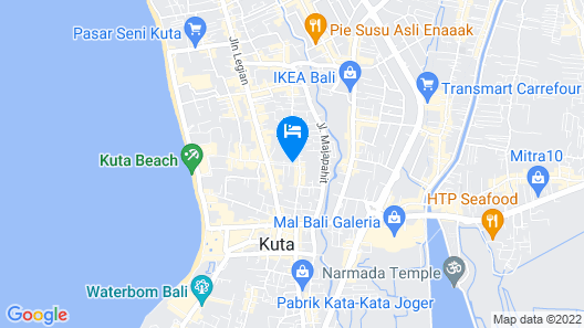 Dewi Sri Hotel Map