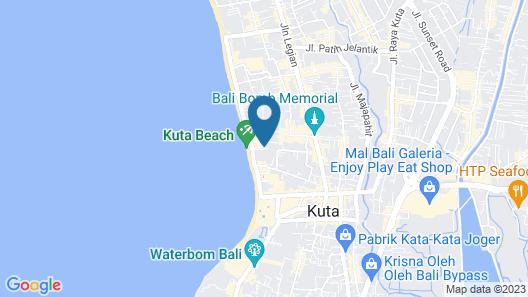 Satriya Cottages Map