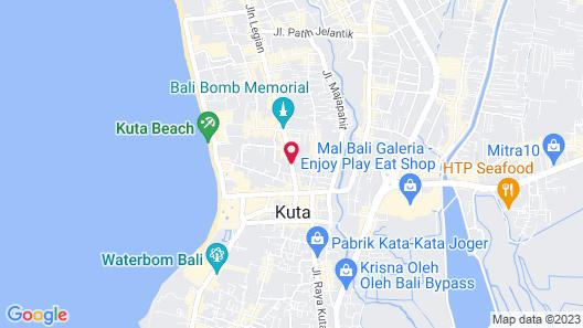 Paradiso Beach Inn Map