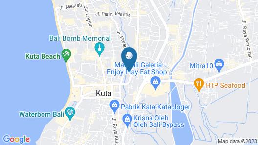 Park Regis Kuta, Bali Map