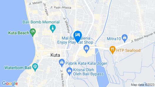 The Kana, Kuta Map