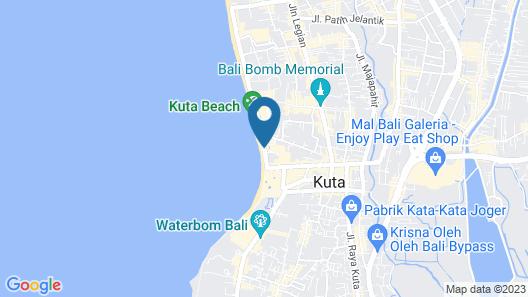 Mercure Kuta Bali Map