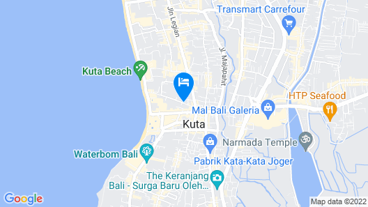 Agung Putra Hotel & Apartment Map