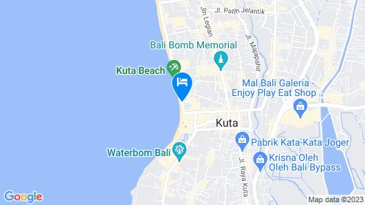 Hard Rock Hotel Bali Map