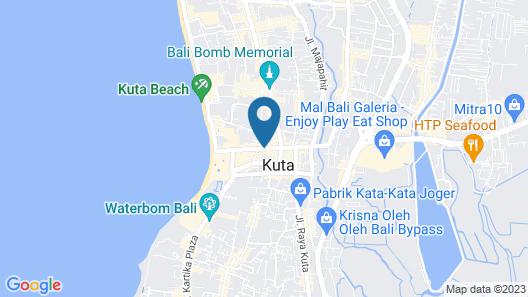 Budhi Beach Inn Map