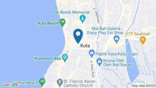 favehotel Kuta Square Map