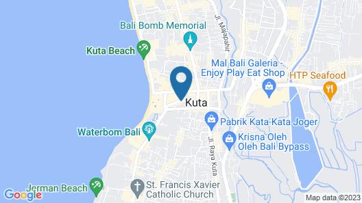 ZIA Hotel Kuta Map