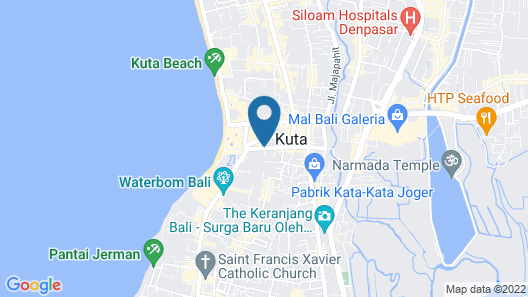 Royal Singosari Kuta Map