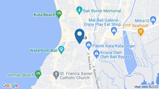 Bakung Sari Resort and Spa Map