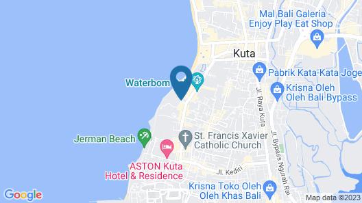 Discovery Kartika Plaza Hotel Map