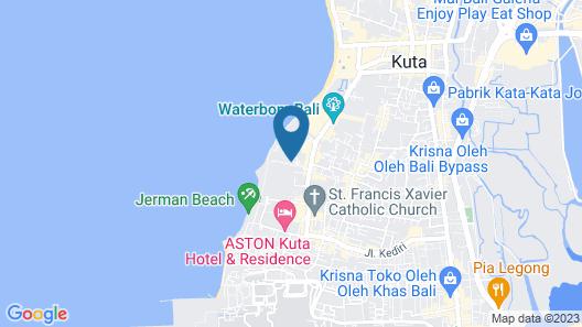 Bali Dynasty Resort Map