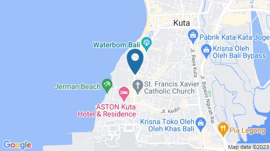 Febri's Hotel & Spa Map