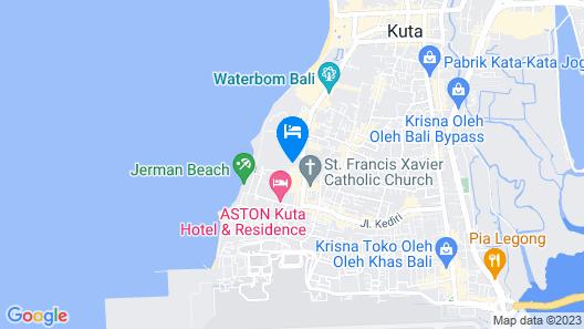 Bintang Bali Resort Map