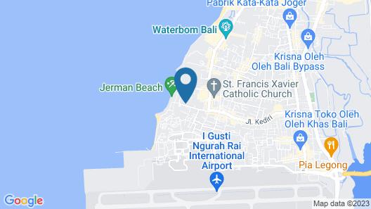 Rama Beach Resort and Villas Map