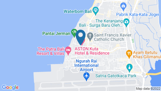Sulis Beach Hotel and Spa Map