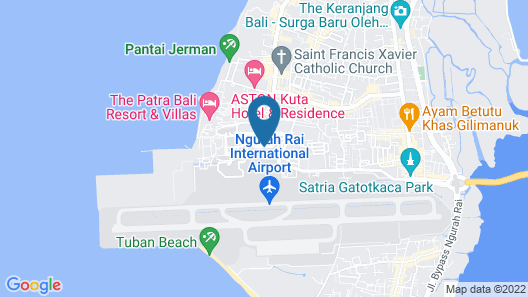 Novotel Bali Ngurah Rai Airport Map