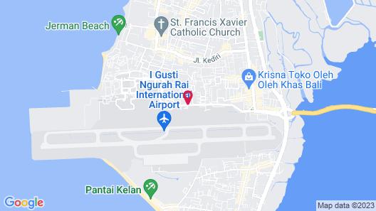 Hilton Garden Inn Bali Ngurah Rai Airport Map