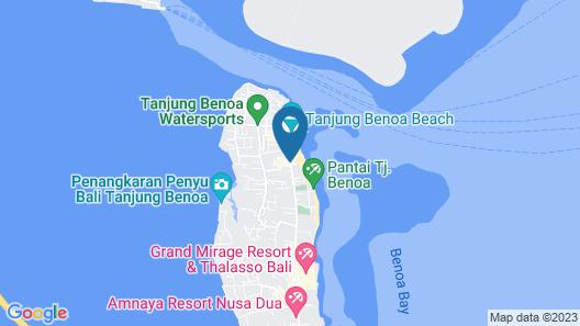 CAMAKILA Tanjung Benoa Map
