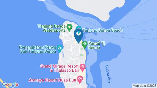The Sakala Resort Bali Map