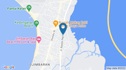 Familytel Bali Map