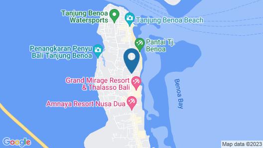 Novotel Bali Benoa Map