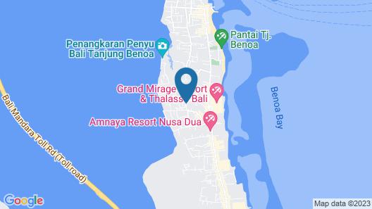 Royal Maharani Nusa Dua Map