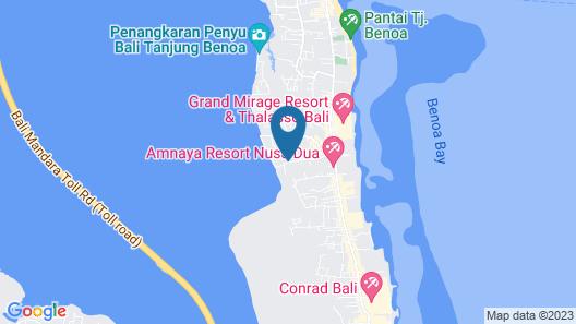 Peninsula Bay Resort Map