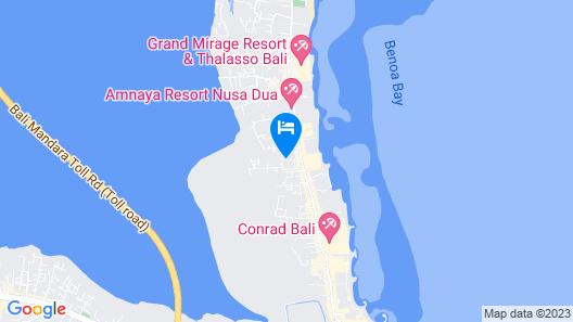 Vico Hotel Map