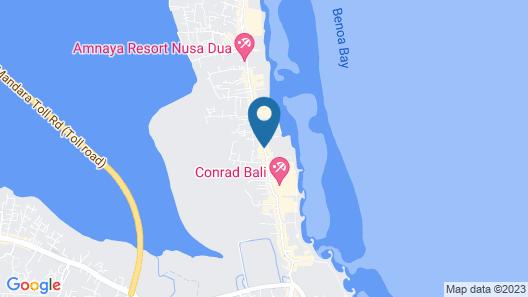 Bali Relaxing Resort & Spa Map